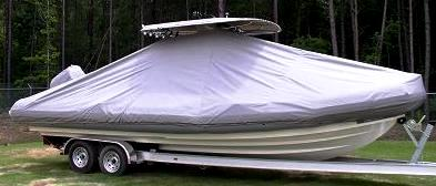 Zodiac Pro 850, 20xx, TTopCovers™ T-Top boat cover, starboard side